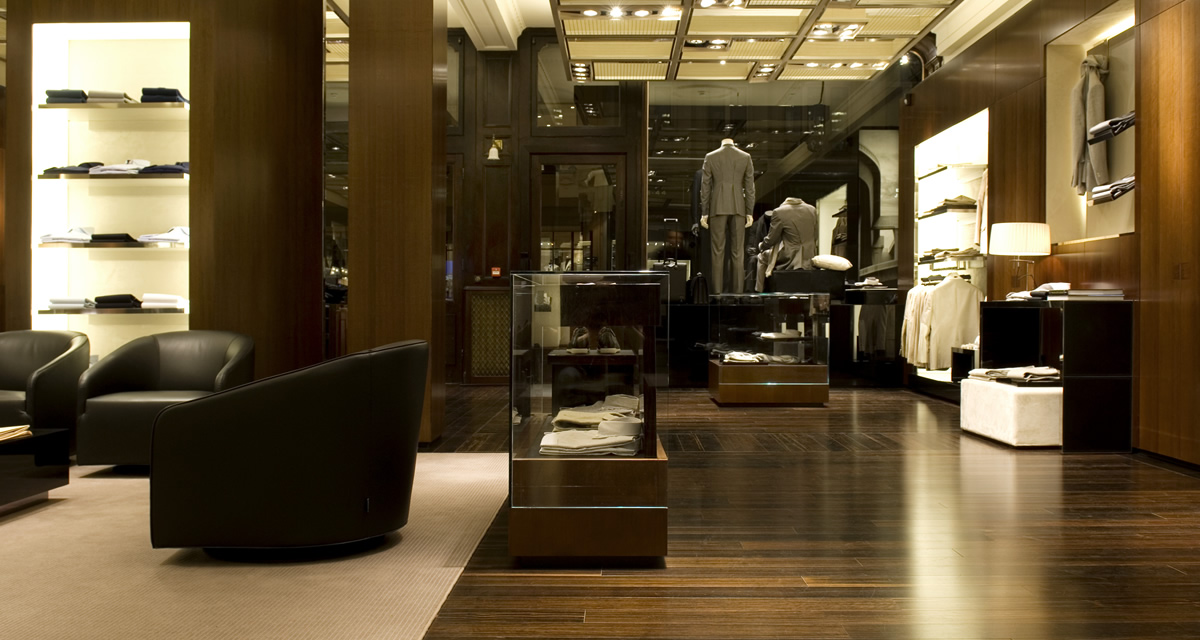 Sartoria Salotto Italiano : Corneliani london new bond street case history